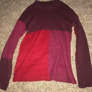 Tops - Color block sweater
